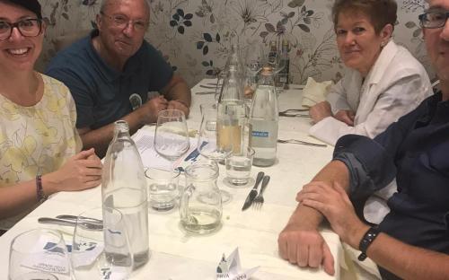 """Trezzano sul Naviglio, pranzo solidale ristorante """"Gauguin"""", 29.9.19"""